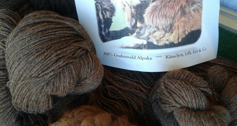 100 % Grafenwald Alpaka
